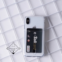 Pocket anticrack card case iphone 5 5S SE 6 6s 7 plus 8 X XS XR MAX