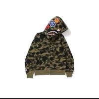 Zip hoodie bape wgm original