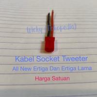 Kabel Kepala Tweeter All New Ertiga & Ertiga Lama - Kabel Socket Audio