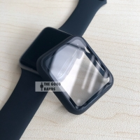 Apple Watch 2 3 4 5 Casing & Glass Full cover TG Hard Case 42mm 44mm