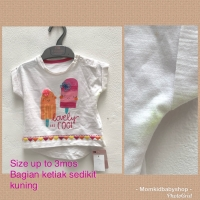 T-shirt mothercare original baby girl lovely cool