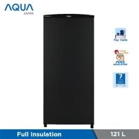 Freezer AQUA JAPAN AQF-S4 (S) 4-5RAK lemari es pembeku es batu kulkas