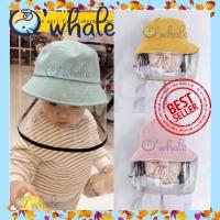Topi Anak Pelindung Virus Corona IMPORT / Topi Anak Pelindung Debu - Kuning