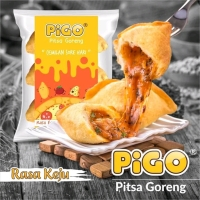 Pigo Pitsa Goreng - Pizza Goreng Rasa Keju