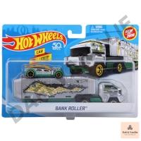 HOT WHEELS TRUCK HAULER BANK ROLLER MATTEL