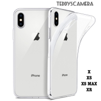 Case Silicone Clear Tpu Softcase iPhone X XS XR XSMAX ULTRA THIN CASE