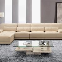 Sofa L Kulit Mb Tech Kombinasi Marmer Kualitas Super