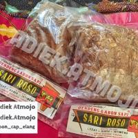 Abon Sapi cap Sari Roso 250 gram (Bawang Goreng / Kentang Pedas)