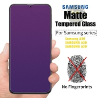 TEMPERED GLASS ANTI BLUE LIGHT MATTE ANTI RADIASI IPHONE X FULL COVER