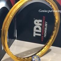 Velg TDR W Shape Ring 17 X 140 Warna Gold Original