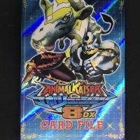 Album Kartu Animal Kaiser Evolution 8DX Muat 96 kartu edisi warna biru