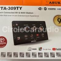 TV double din Headunit asuka PTA - 309TY +tuner digital