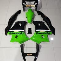 Fairing set ninja rr old hijau se spakbor hijau original