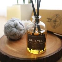 Reed Diffuser Breathe (Lemongrass) 50ml Aromatherapy Free Stick Rotan