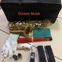 Baby saxophone soprano gold ostrava original