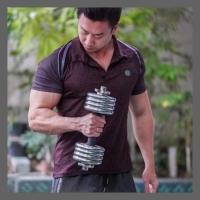 Kaos POLO UA kerah drifit Pria olahraga gym fitness - premium quality