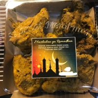 Ayam ungkep bumbu kuning, extra bumbu, delivery instant/sameday