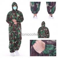 Baju APD Hazmat Suit Parasut TNI AD( Anti Air Droplets / Bisa Dicuci )