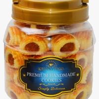 Krisma Food Nastar Gulung Premium Handmade 320 gr