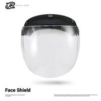 MASKER HELM Pelindung wajah bahan ABS & Polycarbonate APD CORONA COVID