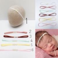 Bandana bayi bando bayi newborn pearls headband bayi headband baby