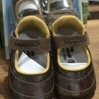 SEPATU PREWALKER BABY MILLIONER - COKLAT KULIT