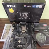 MSI Z370 PC PRO feat intel Core i5 9400F Coffelake soket 1151