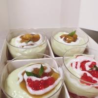 Mini pie in cups isi 4 (Swipe foto untuk pilihan rasa)