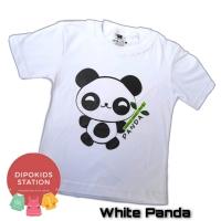 Baju Kaos Anak White Panda Pusat Grosir Pakaian Anak