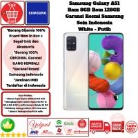 Samsung Galaxy A51 8GB/128GB 8/128 GB 8/128GB Garansi Resmi SEIN-White