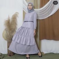Chloe/gamis/gamis laris/ gamis terbaru/tunik/tanah abang/baju muslim