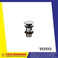 TOTO T6JV6 ONE PUSH POP UP WASTE W/ OVERFLOW HOLE / AFUR WASTAFEL