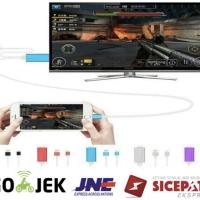 Apple kabel iphone 5 6 7 8 plus x xs max ke tv lightning to hdmi mhl