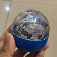 Miniatur mobil Aoshima Suzuki Jimny scale 1:64 warna Biru