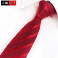 Dasi panjang long tie motif tekstur B03 merah red pria dewasa formal