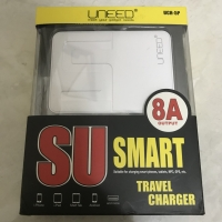 Uneed smart travel charger 5 usb
