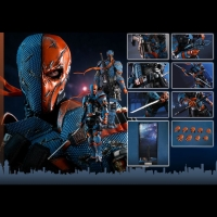 Hot Toys VGM30 Deathstroke, Batman : Arkham Origins MISB