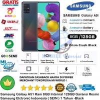 Samsung Galaxy A51 8GB/128GB A 51 8/128GB 8/128 Resmi-SEIN-Black-Hitam