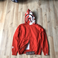 Bape UK Collection Hoodie Red / Jaket Bape Best Perfect 1:1