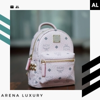 MCM X-Mini Bebeboo Backpack in Powder Pink