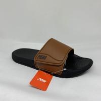 Sendal sandal piero original 100% Artemis tan/black new 2019