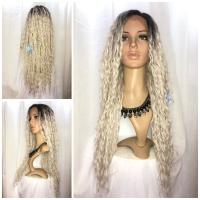 Lace wig kriting kriwil panjang bahan fiber LF MARSHA