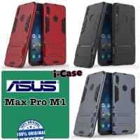 Case Max Pro m1 iRon Stand - casing cover asus zenfone max pro m1