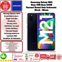 Samsung Galaxy M21 4GB/64GB M 21 4/64 GB 4/64GB Resmi-Black-Hitam
