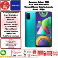 Samsung Galaxy M21 4GB/64GB M 21 4/64 GB 4/64GB Resmi-Green-Hijau