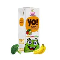 Yogurt Heavenlyblush Yo kids Banana Berries Brocoli 200ml