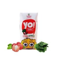 Yogurt Heavenlyblush Yo kids Lychee Spinach 200ml