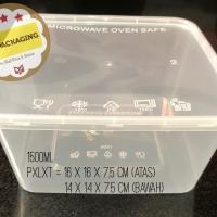 Kotak Makan Microwave / food box / wadah plastik 1500ml