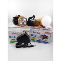 Senter kepala tesla 10W putih + bonus lampu D+ lensa kunig / TLK 9051N