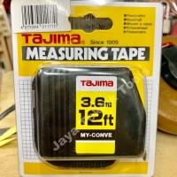 Meteran Tajima My Conve 3.6 meter Myconve Auto Lock Kunci Otomatis